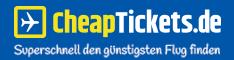 CheapTickets.de - immer die besten Angebote. Inklusive aller Billigflieger!